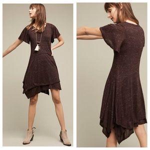 Anthropologie Dolan Melanie Knit Dress Asymmetric